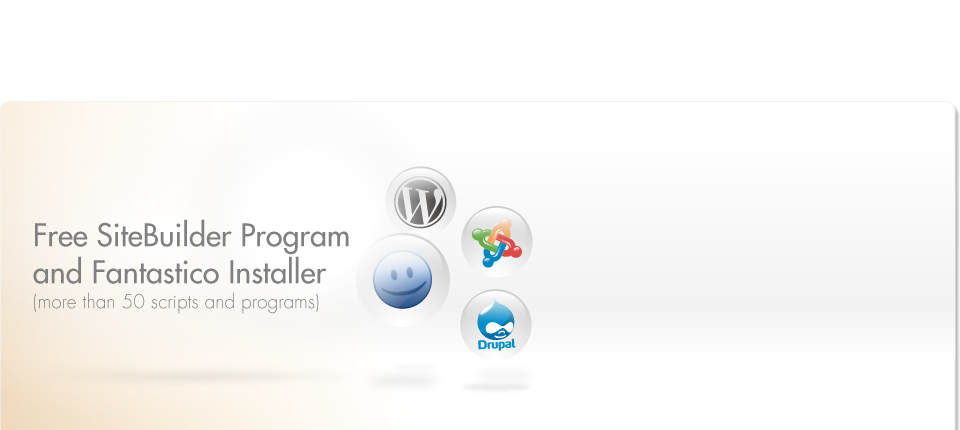 Free SiteBuilder Program and Fantastico Installer