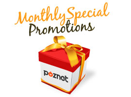Monthly Special Promotions